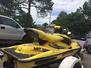 98 Seadoo Xp with Trailer