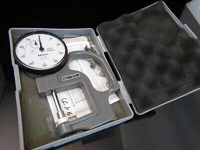 Mitutoyo 7305 Metric Dial Indicator Thickness Gauge