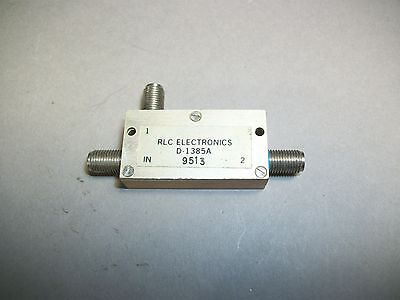 Rlc Electronics D-1385a Microwave Rf Power Divider Splitter Sma Female - Used