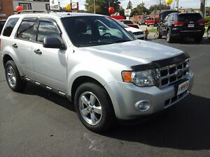 2011 FORD ESCAPE XLT MANUAL- BLUETOOTH, SATELLITE RADIO, SPEED C