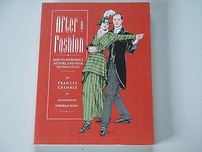 AFTER A FASHION-FRANCES GRIMBLE-PAPERBACK-1993