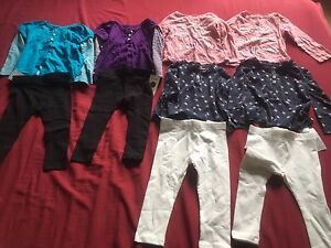 Twin Girl Clothing Lot 18 month-3T