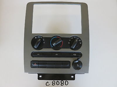 Used, 05 06 07 FORD FIVE HUNDRED BEZEL CLIMATE CONTROL PANEL TEMP UNIT HVAC OEM C8080 for sale  Cocoa