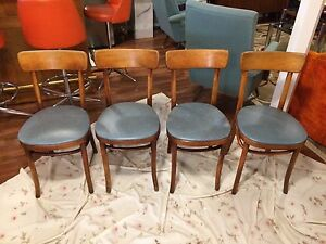 Antique vintage Thonet bentwood chairs