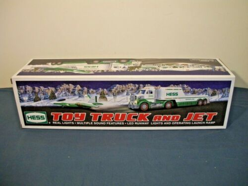 2010 Hess Truck and Jet. New In Box