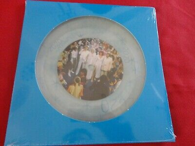 """ABBA """"Happy New Year + Felicidad"""" 2020 LTD Edition NUMBERED 45rpm 7"""" CLEAR VINYL"""