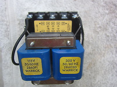 Warrick Controls Gems 1G1D0 115/300V 1NC 2NO Control Relay, New