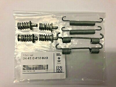 Genuine BMW Rear Brake Shoe Spring & Clip Set 34410410823 E46/E87/E90/F20/F30