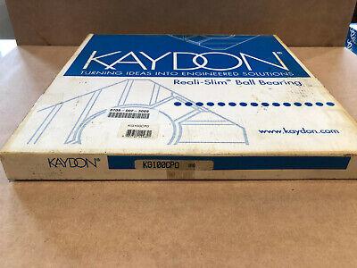 Kaydon Kg100cp0 Open Reali Slim Bearing Type C Radial Contact
