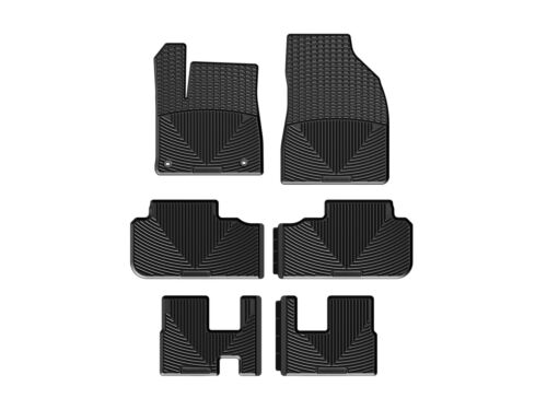 Weather Car Mats >> Details About Weathertech All Weather Car Mats For Toyota Highlander 2014 2019 Black