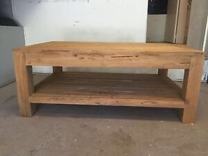 Recycled teak coffee table - never used!!!! Naremburn Willoughby Area Preview