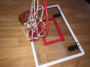 IN ROOM BASKETBALL NET AND BALL