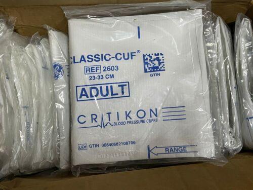 (20ct) GE Critikon 2603 Classic Cuf 23-33cm Adult Blood Pressure Cuffs bp medic