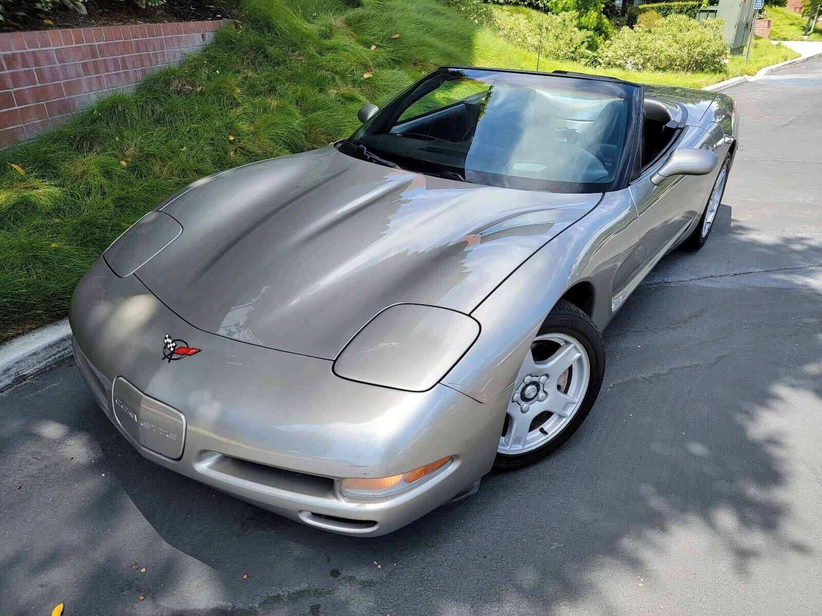 1999 Grey Chevrolet Corvette   | C5 Corvette Photo 1