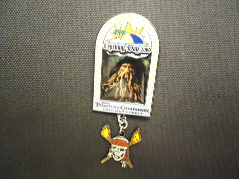 DISNEY DCL PIRATES OF THE CARIBBEAN DEAD MAN