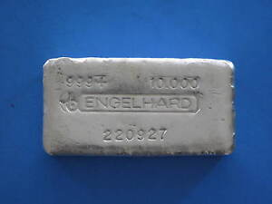 Engelhard-10oz-Silver-Bullion-Bar-Early-Pour-Style-Horns-Logo-220927