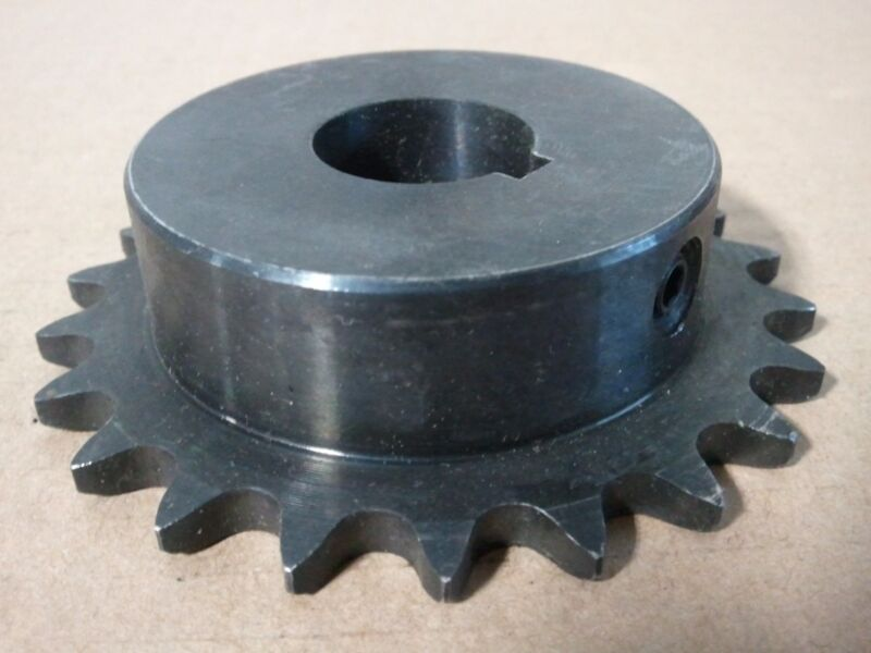 """41B22 SPROCKET    #41 CHAIN 22 TOOTH 1"""" BORE WITH KEY WAY / 1/4"""" KEYWAY"""