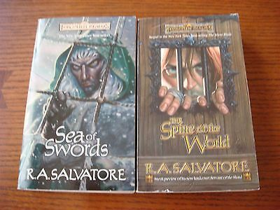 Forgotten Realms R A  Salvatore   Spine Of The World Sea Of Swords   Pb Drizzt