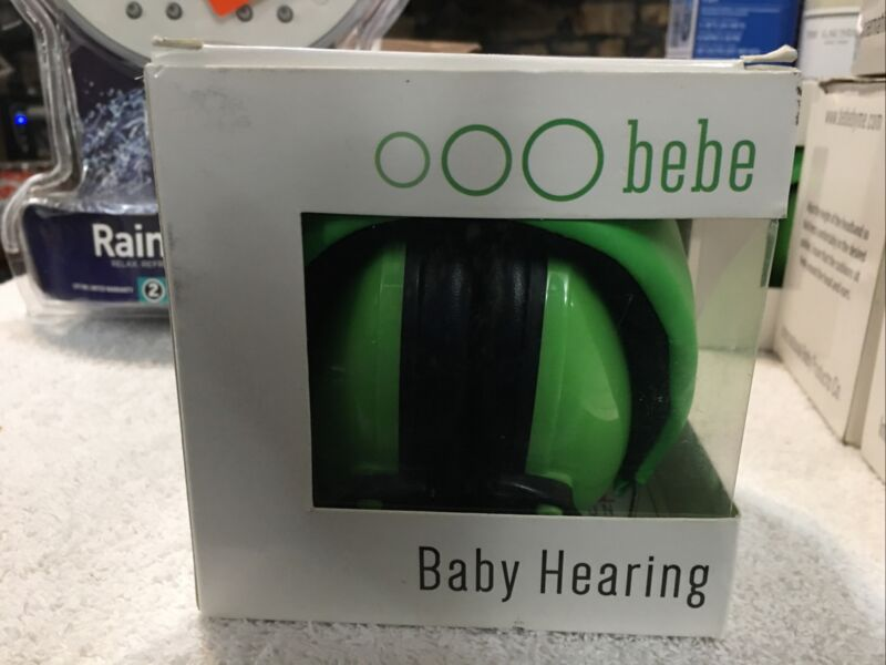 Bebe Muff Hearing Protection Noise Reduction Ear Muffs, 2 years + Green