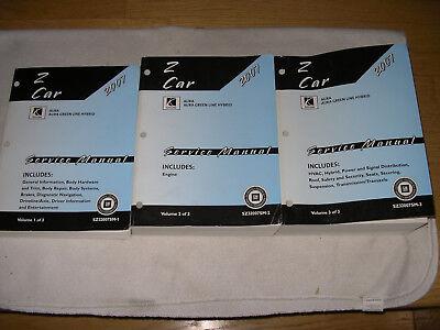 2008 SATURN AURA & AURA GREEN LINE HYBRID SERVICE MANUAL SHOP REPAIR Z CAR
