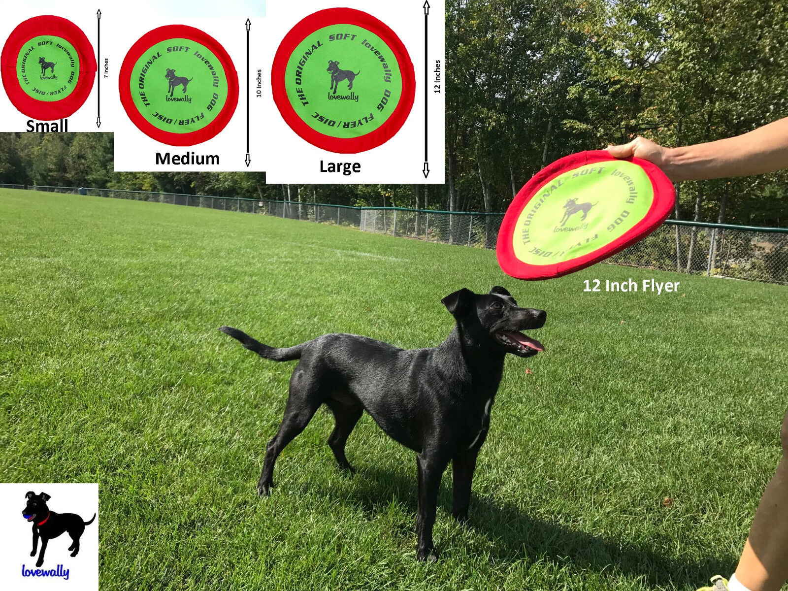 Soft Bite Dog Toy Flyer Floppy Disc Gentle Fetch Frisbee Dis