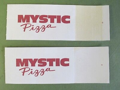 Julia Roberts - Real Mystic Pizza Memorabilia - (2) Napkin Wrapper Unused (Napkin Wrappers)
