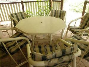 OUTDOOR SETTING-TABLE AND 6 CHAIRS-VERY GOOD CONDITION Stanthorpe Southern Downs Preview