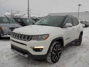 Jeep Compass Limited 4X4 2017 CUIR/TOIT/GPS