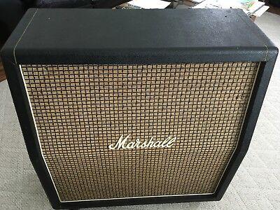 Marshall 1960a cabinet 4x12 Vintage 1971 Celestian G12m 25 watt greenbacks