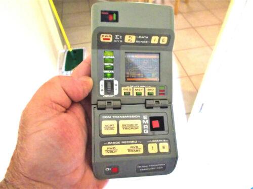 Vintage 1993 Star Trek TNG tricorder w/ lights and sound FX