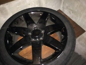 5x115 VUE REDLINE rims an tires