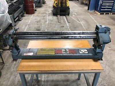 Roper Whitney Pexto 36 X 22 Ga Sheet Metal Bending Roll Mn 381d