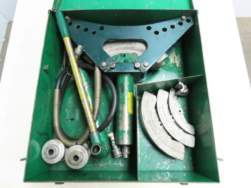 Greenlee No. 880 One-Shot Rigid Hydraulic Conduit Bender W Pump