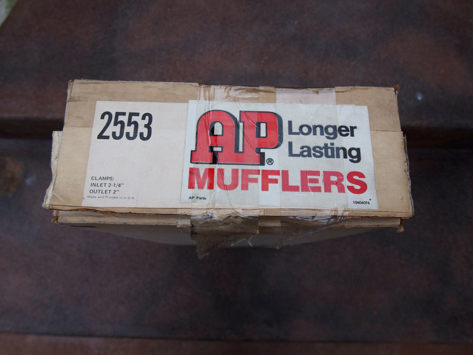Vintage AP 1967~68~69 Camaro 1968~69 Chevy II NOS Original Style Muffler 3981951