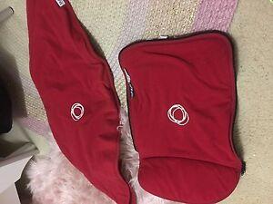 Bugaboo cameleon 2 red fleece set Mount Barker Mount Barker Area Preview