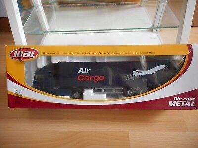 Joal Mercedes Actros 1840 Trailer Air Cargo Black 1:50 in Box Ref: 360