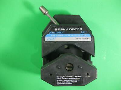 Masterflex Easy-load Ii Cole Palmer Pump Head -- 77200-60 -- Used