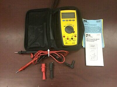 Ideal 61-480 Commercial Contractor Grade Multimeter With Leads - Grade Multimeter
