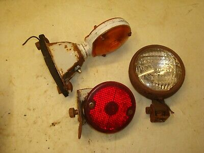 Ford 801 Tractor Fender Head Lights 600 800