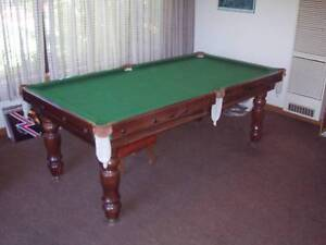 POOL TABLE WITH TABLE TENNIS TOP Box Hill North Whitehorse Area Preview