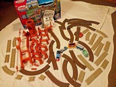 Thomas & Friends Motorized Train Set Zip Zoom & Logging Adventure Railway Track