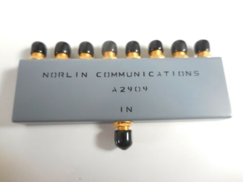 Norlin Communications A2909 8-Way Combiner / Splitter