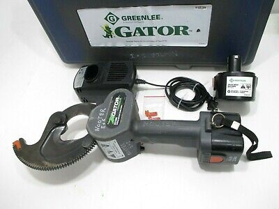 2016 Greenlee Gator Es1000 14.4v Battery Powered Cable Cutter Portable 1000 Mcm
