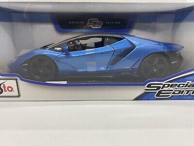 Maisto 1:18 Scale Special Edition Diecast Model - Lamborghini Centenario - Blue