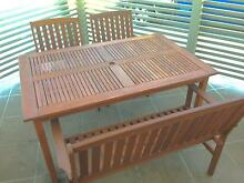 Brand New!! - 4 Piece Timber Outdoor Rectangular Setting Brendale Pine Rivers Area Preview