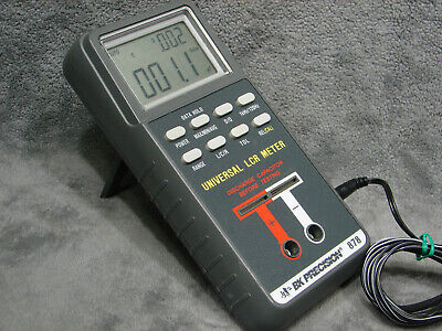 Bk Precision 878 Universal Lcr Impedance Meter Testing Electrical Test Equipment