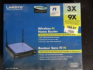 Linksys wireless - N router
