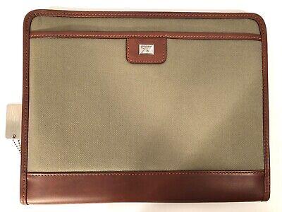 Cutter And Buck Leather Writing Pad Folder Organizer 9800-01ct - Brand New
