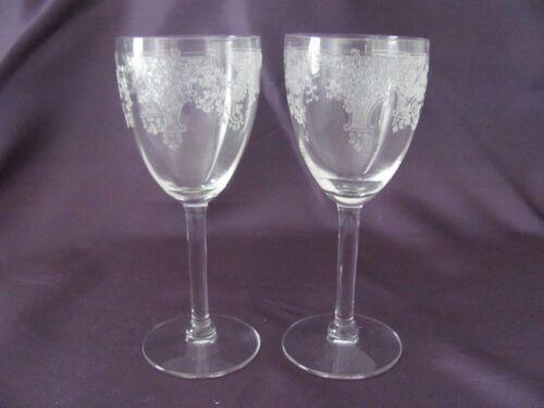 "Fostoria ""Melrose"" Wine Glass - SET OF 2"