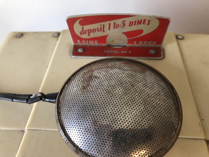 Dahlberg 49-6 Coin Operated Radio w pillow speaker antique vintage vtg motel